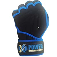 XPOWER High Quality Ventilated Weight Lifting Gloves with Wrist Wraps - Great for Pull-Ups, Gym Workout, Cross Training…