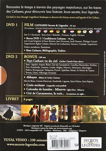 Cathares - secrets et légendes [Francia] [DVD]: Amazon.es: Sales, Christian: Cine y Series TV