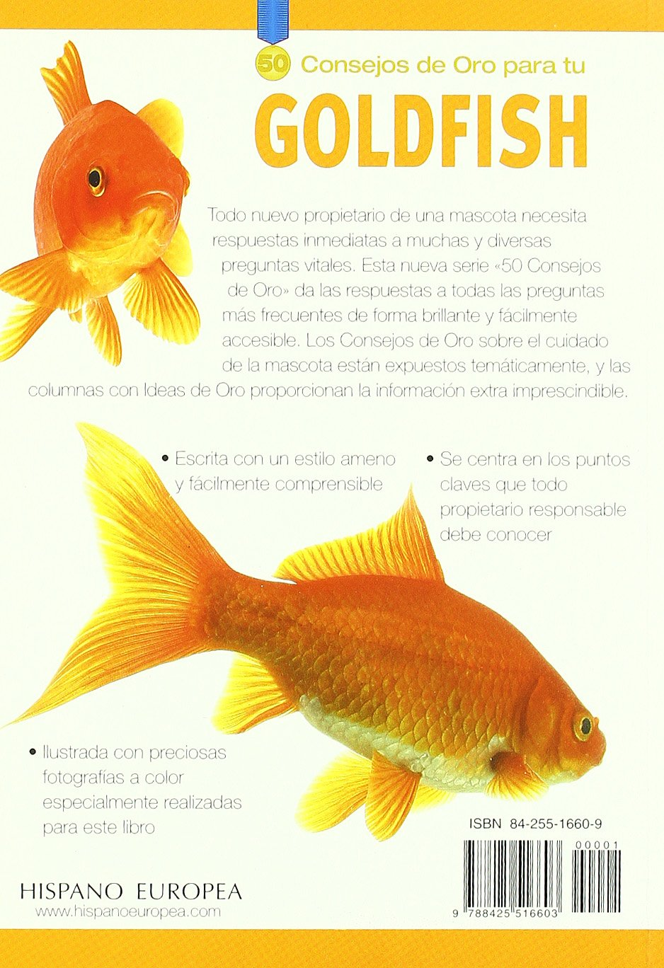50 consejos de oro para tu Goldfish/ Gold Medal Guide, Goldfish (Spanish Edition)