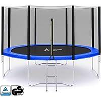 245 305 366 430cm 6 8 barres Filet de sécurité de remplacement adapté au trampoline --PE matériel , maille de haute densité-- filet de sécurité seulement , Sans trampoline ni armature / coussin (4 couleurs à choisir)