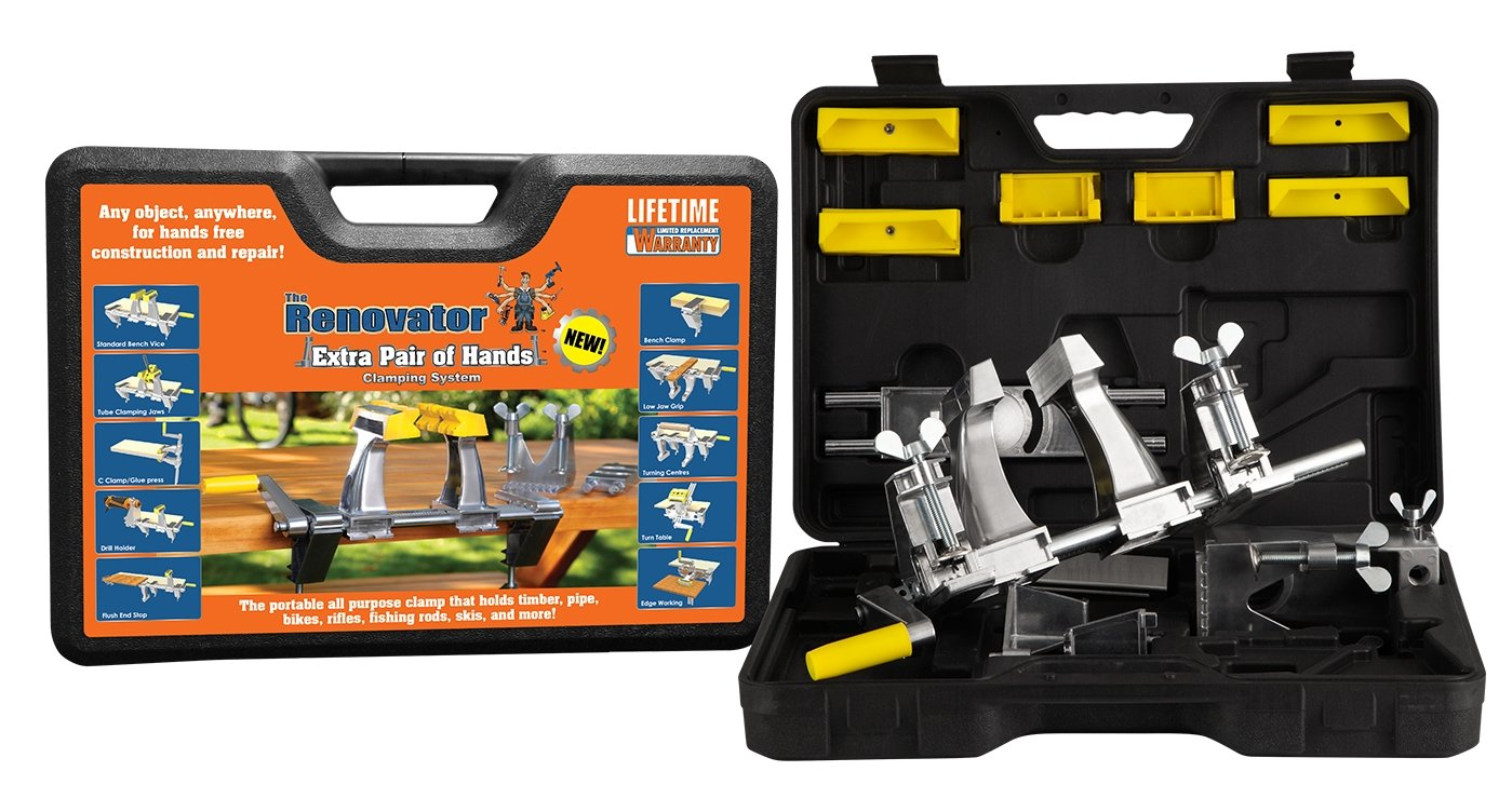 Extra Pair of Hands by Renovator - The World's Most Versatile, Portable, Patented Clamping System That Holds Your Work, So You Can Do Your Work by Renovator (Image #2)