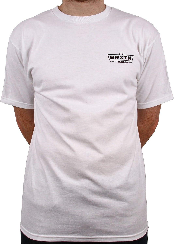 Brixton Camiseta Cruss Blanco (S, Blanco): Amazon.es: Ropa y accesorios