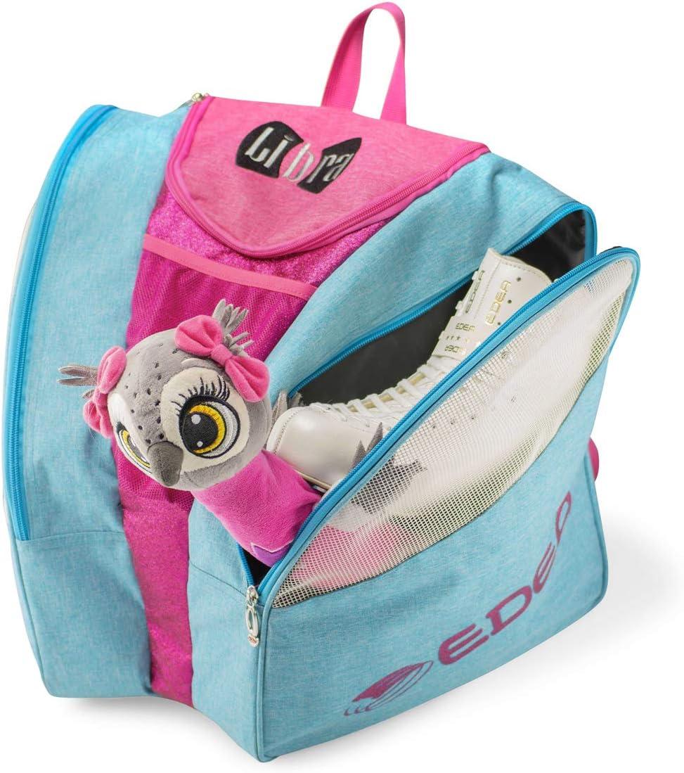 Edea Libra Ice Skate Bag Sky Blue//Pink