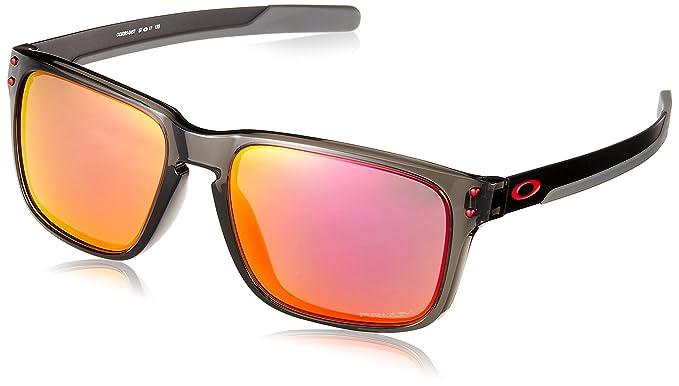 68fcab8e60 ... new style oakley mens holbrook mix a non polarized iridium rectangular  sunglasses grey smoke b42dd 011e4