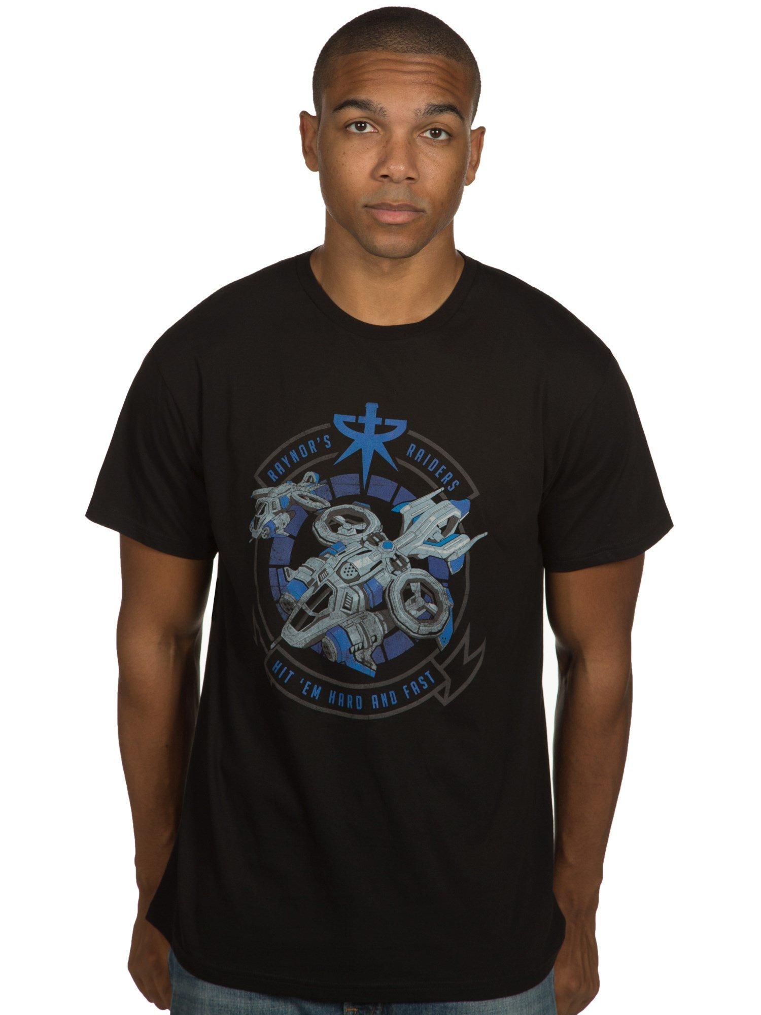 Jinx Heroes Of The Storm S Raynors Raiders Premium Tshirt