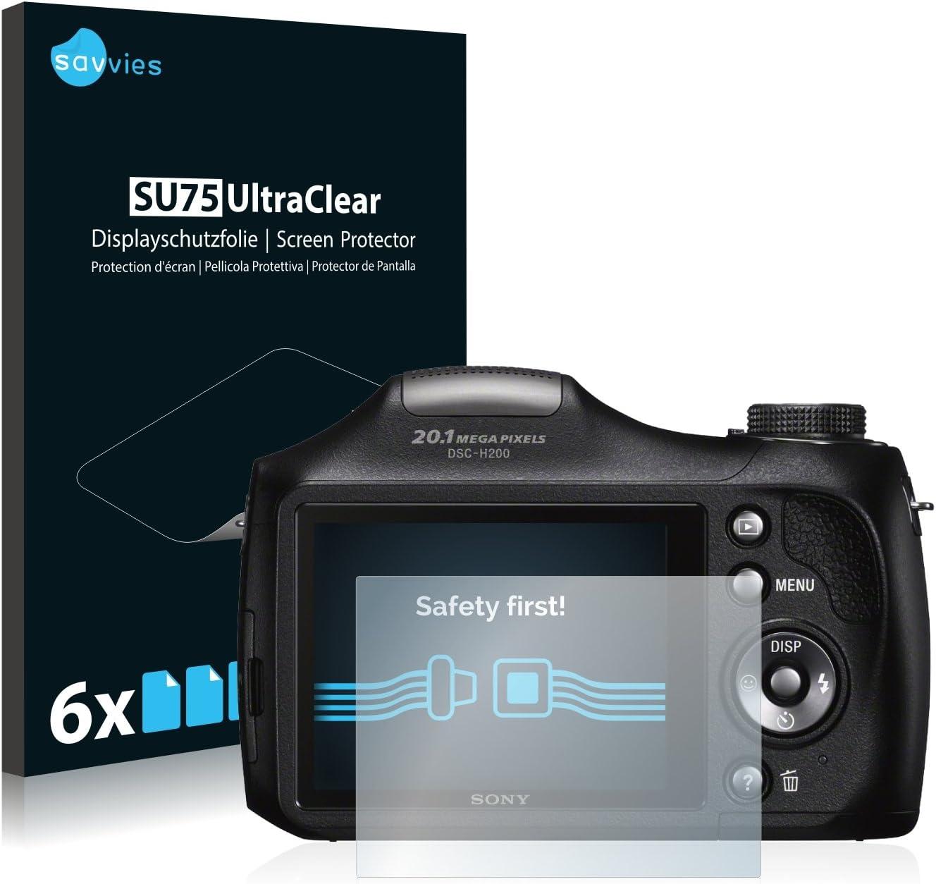 savvies Protector Pantalla Compatible con Sony Cyber-Shot DSC-H300 ...
