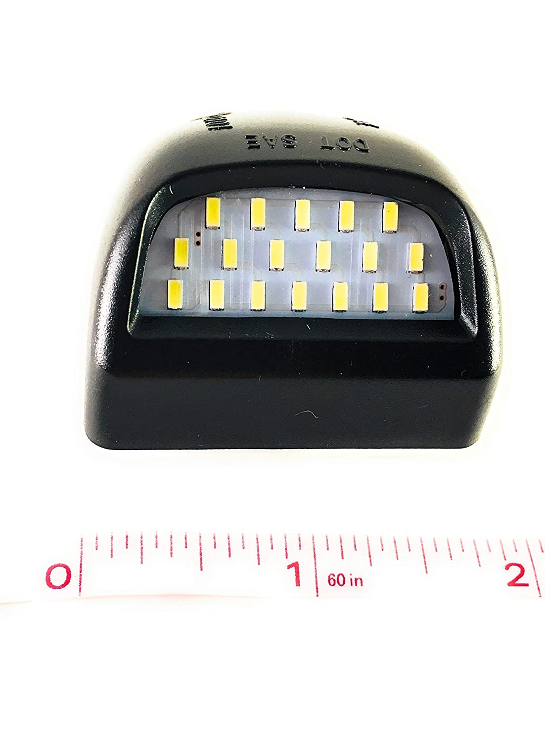 Ozsey LED License Plate Light Lamp Assembly Tag Light Lamp Assembly for Chevy Silverado Tahoe Surburban 1500 2500 3500 Avalanche GMC Sierra Yukon 1500 2500 3500 Cadillac Escalade