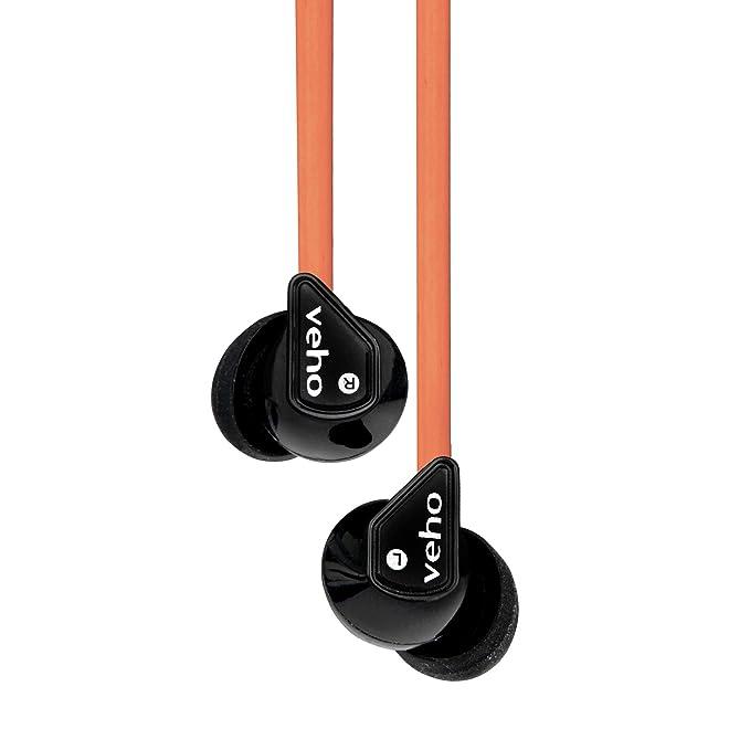 Veho VEP-003-360Z1BW - Auriculares in-ear, color blanco: Amazon.es ...