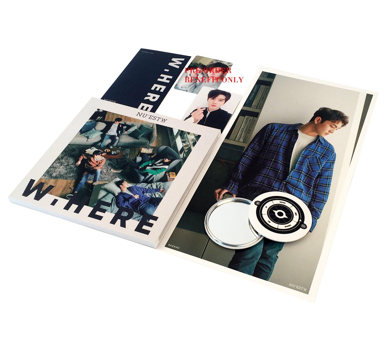 Nuest W Album W Here Still Life Ver Cd Photobook Mini