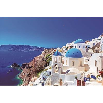 Puzzles for Adults 1000 Piece Large Puzzle, Vintage Paintings Landscape Jigsaw Puzzle(829-Aegean sea): Toys & Games