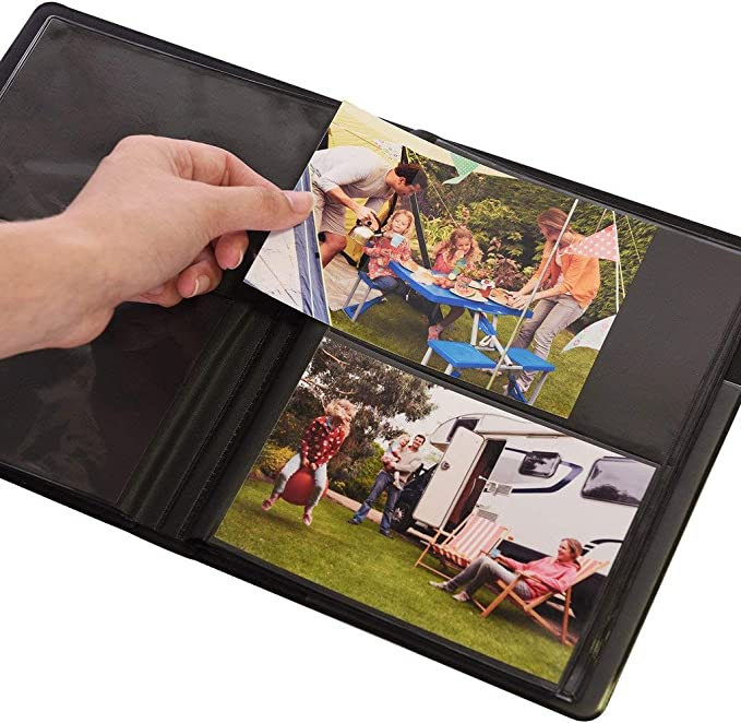 Holds 72 Photos Compatible With Kodak Dock Printer Photos Ritz Gear Window Cover Photo Album for 4 x 6 Prints