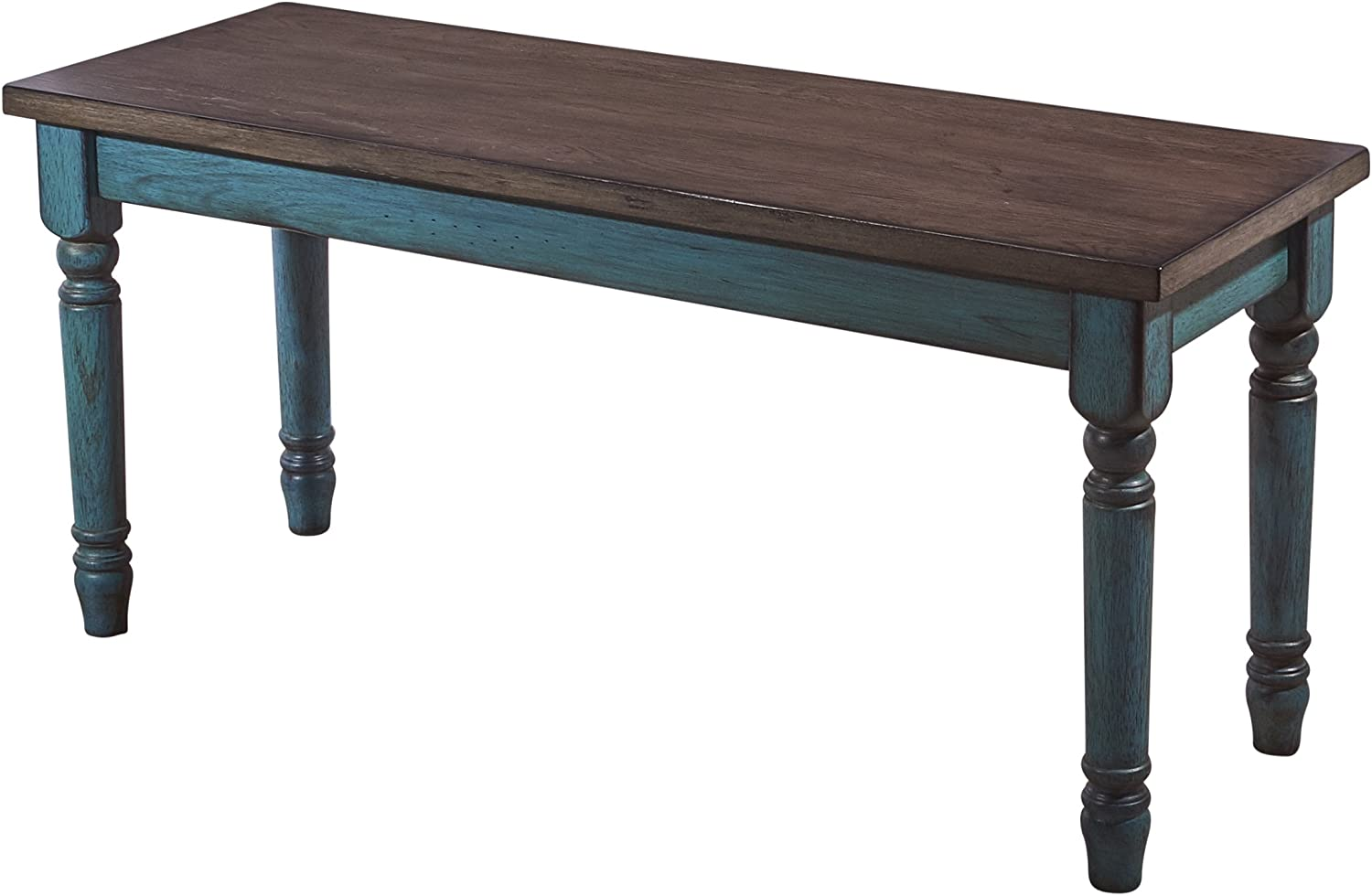 Powell Furniture Willow Dining Bench, Multicolor