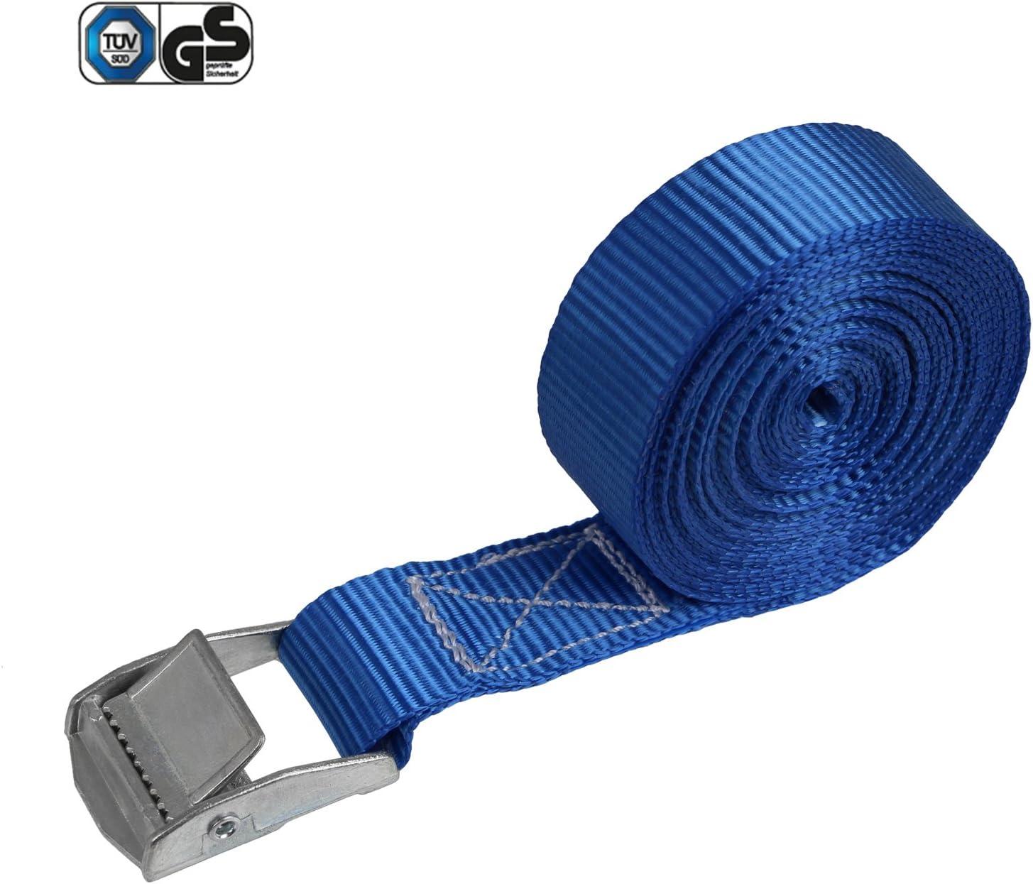 Correa de amarre cinturón de amarre con hebilla - azul - 2,5m 4m ...