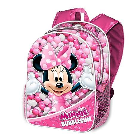 Karactermania Minnie Mouse Bubblegum Mochilas Infantiles, 40 cm, Rosa