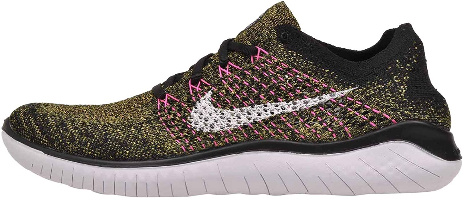Nike Mens Free RN Flyknit Running Shoe: Amazon.es: Zapatos y complementos
