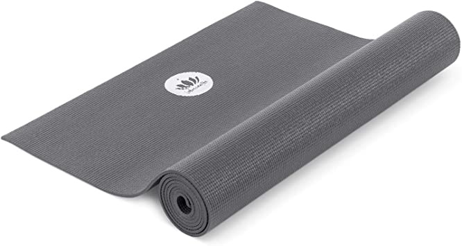 Lotuscrafts Yoga Mat Mudra Studio - 5mm Thick Non Slip Yoga Mat - Eco Friendly Yoga Mat Non Toxic - High Density Yoga Mat for Home and Gym - Sticky ...