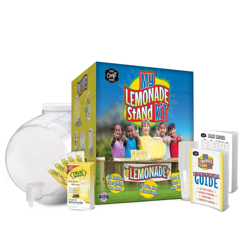 Amazon.com: Home Craft Works 20035 My Lemonade Stand Kit: Kitchen ...