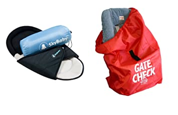 Amazon.com  Travel Baby Bundle - SkyBaby Mattress for Aeroplanes and JL  Childress Gate Check Bag for Car Seat - 2 Items Supplied (Dispatched from  UK)  Baby 8e8469ef31abd