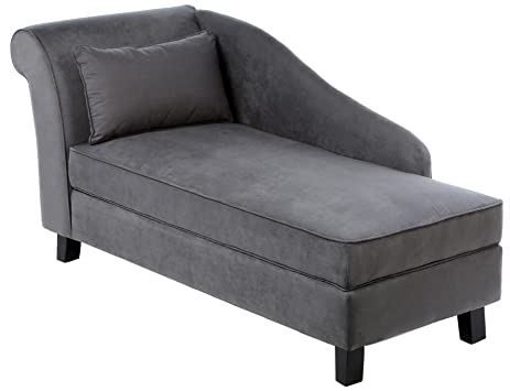 Amazon Castleton Home Storage Chaise Lounge Modern Long Chair