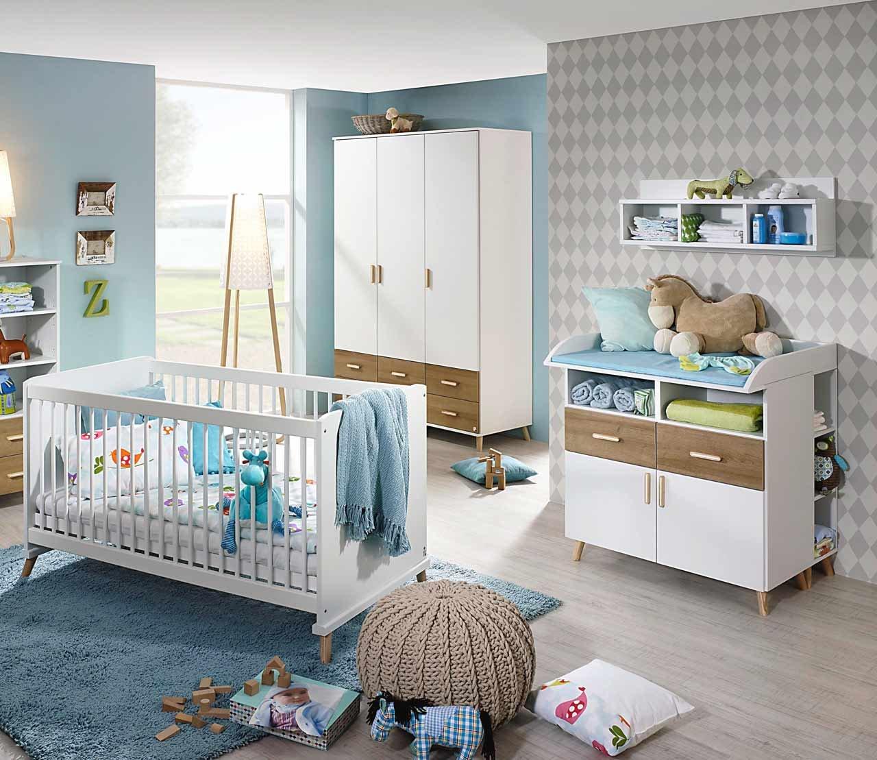 Babyzimmer, Kinderzimmer, Komplett-Set, Babymöbel, Babybett ...
