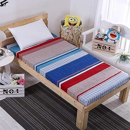GJFLife Japonés Piso Colchón Tatami Cubre colchón Dormitorio de Estudiantes Esponja Cama alfombras, Espesado Colchón
