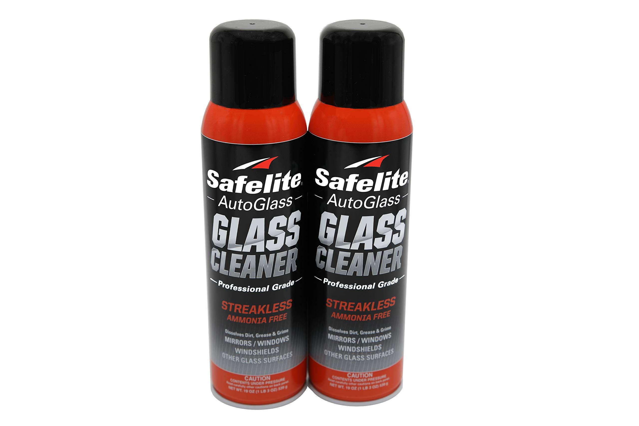 Safelite Glass Cleaner, 19 oz, 2 Pack