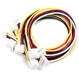 Seeedstudio Grove - Universal 4 Pin Buckled 20cm Cable (5 PCs pack)