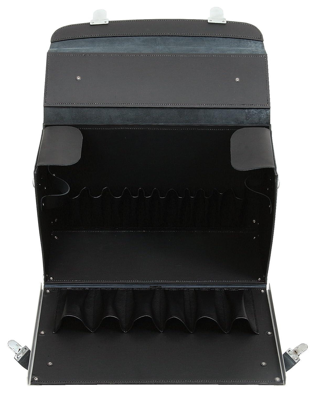 L420xB150xH250mm KS Tools 850.0310 Leder-Werkzeugkoffer