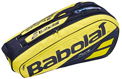 Babolat Pure Aero Racket Holder X6 Raquetero Amarillo - Negro