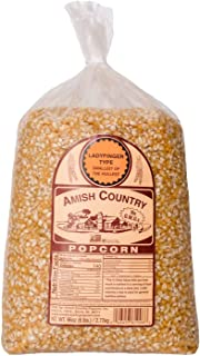 product image for Amish Country Popcorn | 6 lb Bag | Ladyfinger Popcorn Kernels | Old Fashioned with Recipe Guide (Ladyfinger - 6 lb Bag)