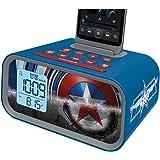 Captain America Dual Alarm Clock ( MC-M23 )