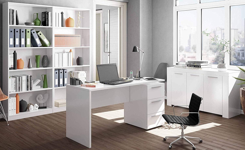 Miroytengo Conjunto Muebles despacho Blanco mobiliario Moderno ...