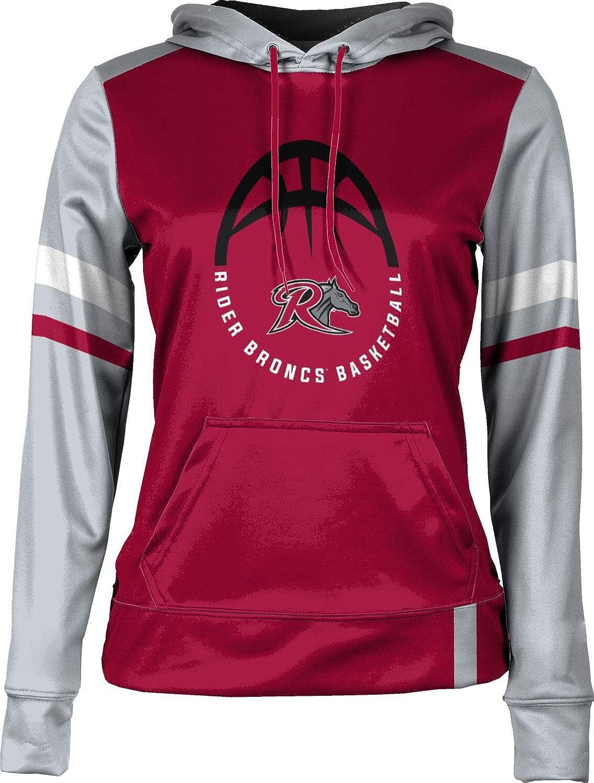 School Spirit Sweatshirt Rider University Basketball Girls Pullover Hoodie Old School