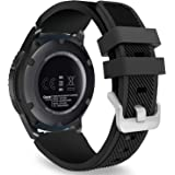 MoKo Band Compatible with Samsung Galaxy Watch 3 45mm/Gear S3 Frontier/Classic/Galaxy Watch 46mm/Huawei Watch GT2 Pro/GT 2e/G