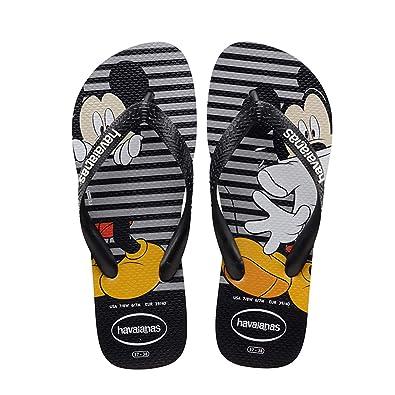 6ae0c23fd Havaianas Kids Disney Stylish Mickey Mouse Sandal Flip Flop Ice Grey (US 3 4