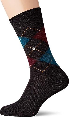 46 Burlington Herren Illusion TEED Socken Anthra.Mel
