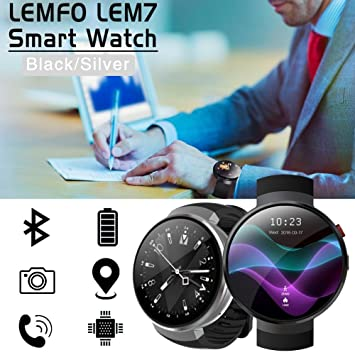 Amazon.com: LEMFO Smart Watch Android 7.0 Smartwatch LTE 4G ...