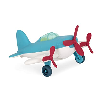 Wonder Wheels by Battat – Airplane – Toy Airplane for Toddlers Age 1 & Up  (1 Pc)