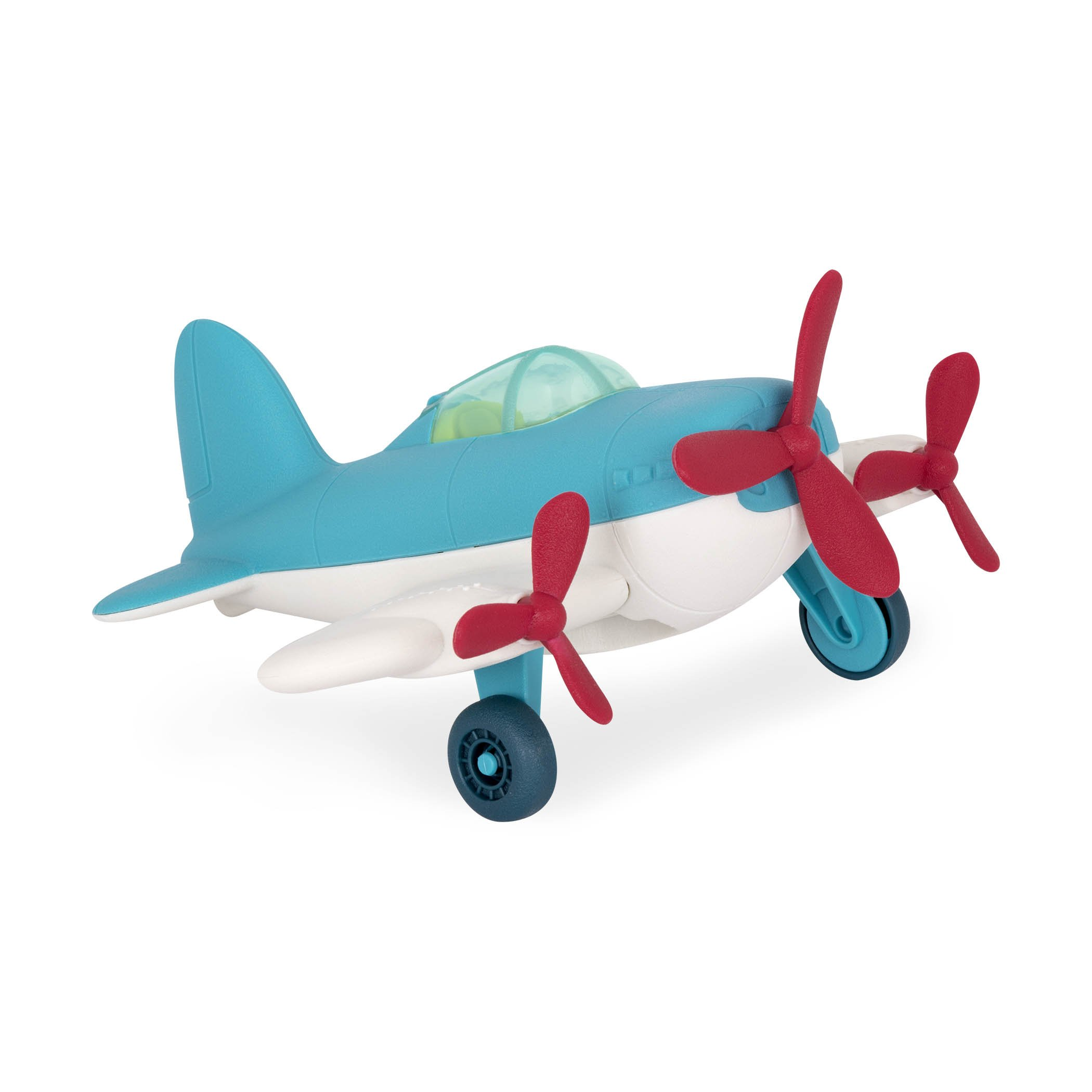 Wonder Wheels by Battat - Airplane - Toy Airplane for Toddlers Age 1 & Up (1 Pc)  - 100% Recyclable