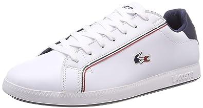 7866bc1411233 Lacoste Men s Graduate 119 3 SMA Trainers  Amazon.co.uk  Shoes   Bags