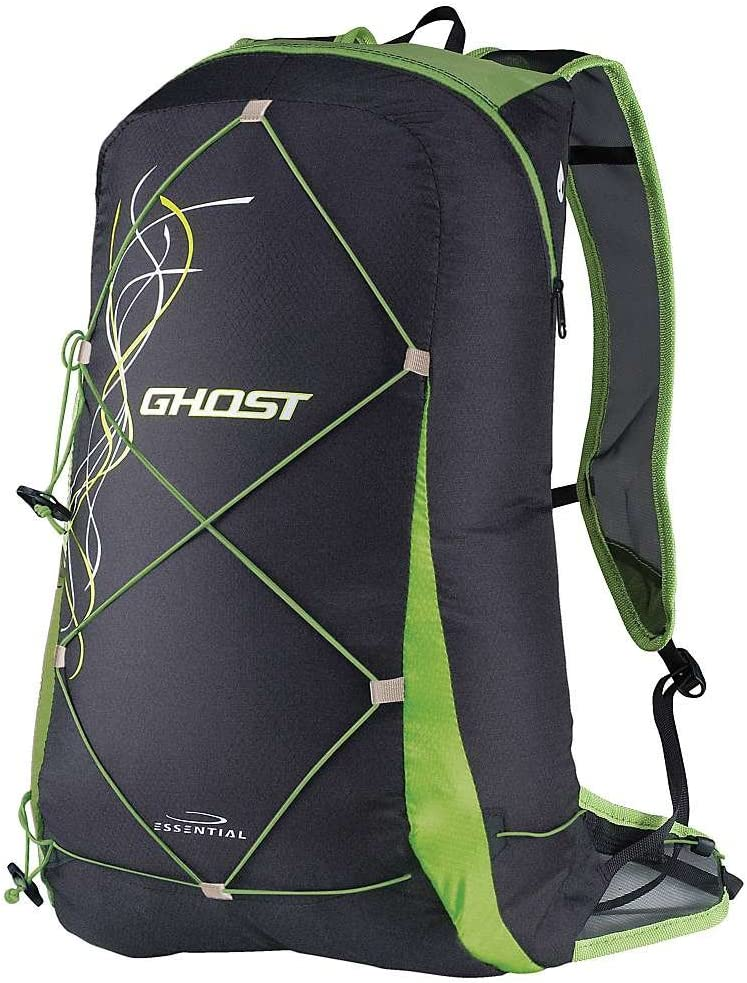 CAMP Packable Backpack Ghost 15 Running, Black/Green: Amazon ...