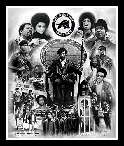 Amazoncom The Black Panther Party By Wishum Gregory 10x8 Inches