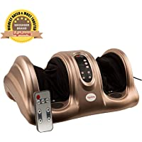 Lifelong LLM72 40W Foot Massager With Flexible Rubber Kneading Pads (Brown)
