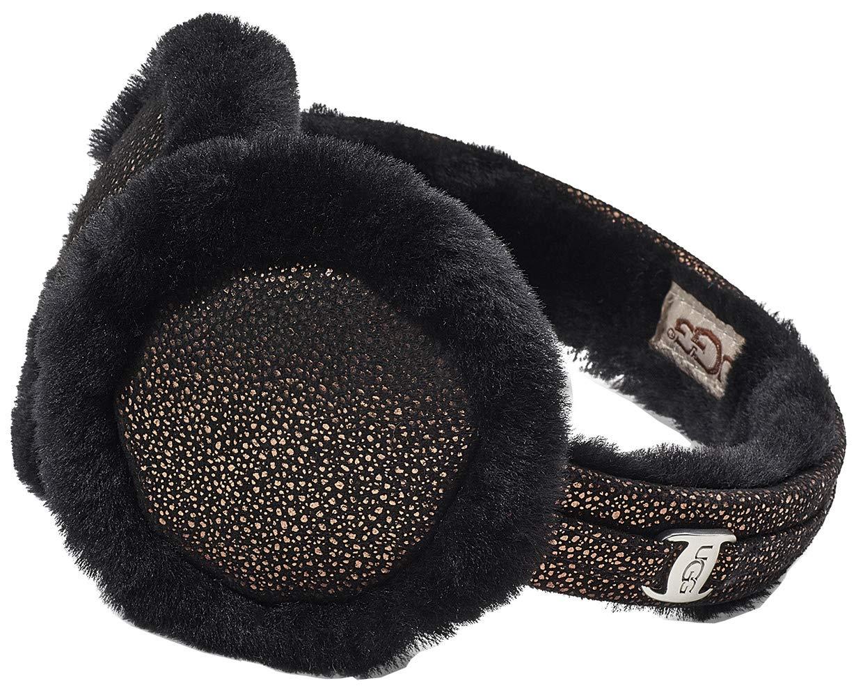 UGG Womens Classic Non-Tech Earmuff in Metallic Black by UGG