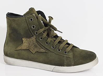 LucchiHi Top Grünverde36 Ovye By Sneakers Cristina Femme EH2IeDW9Y