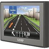 Sat Nav, LESHP 5 Inch Car GPS Navigation with UK Ireland Europe Maps & Free Lifetime Map Updates,8GB