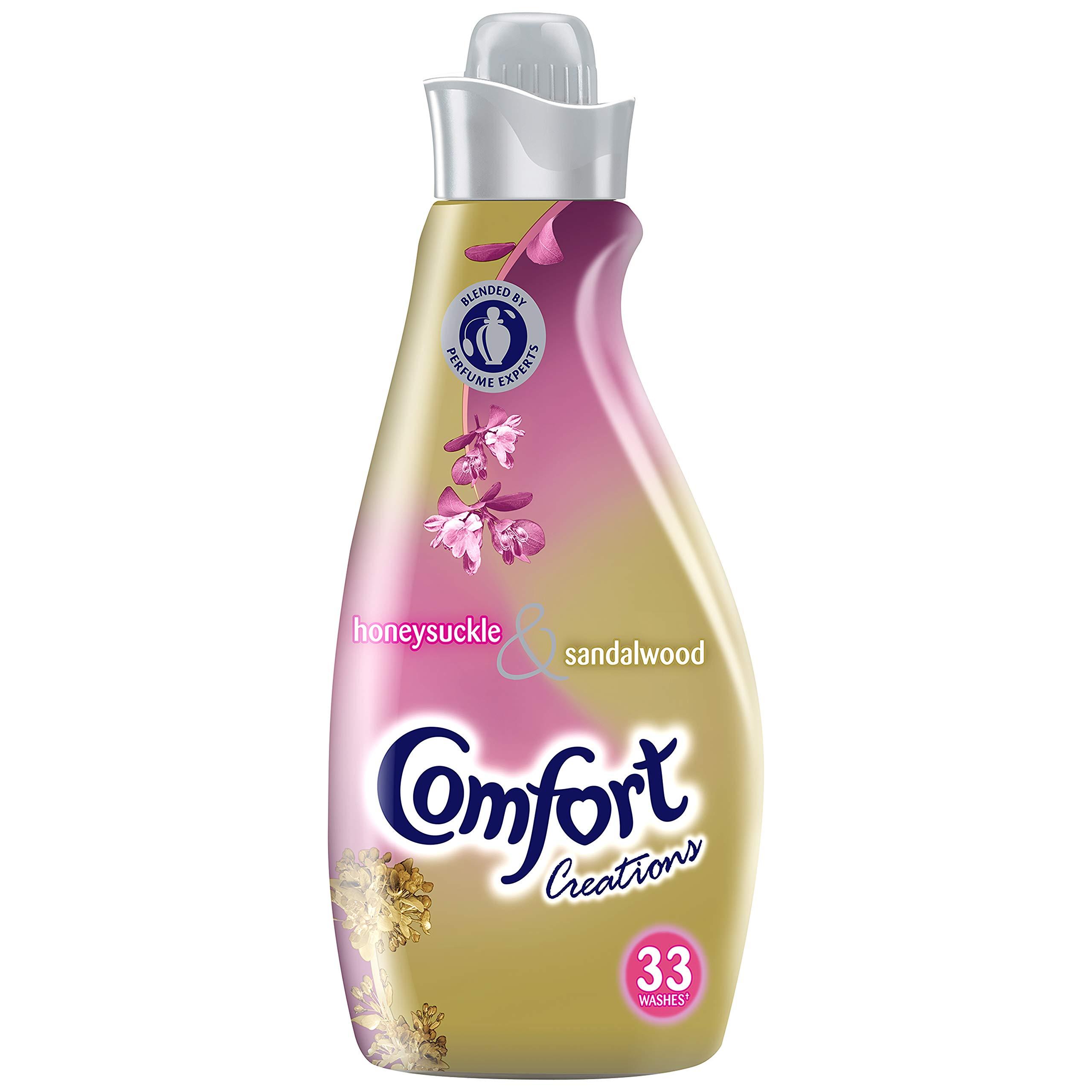 Comfort Creations Honeysuckle & Sandalwood, Pack of 6 ((33w))