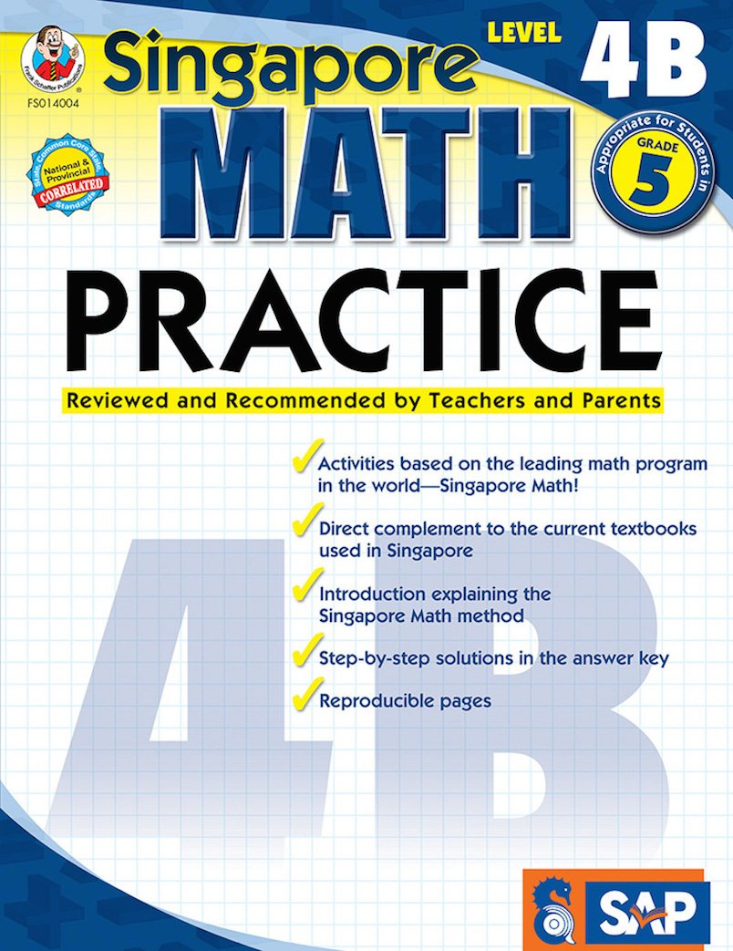 worksheet Frank Schaffer Publications Worksheets math practice grade 5 singapore frank schaffer publications 0017257140045 amazon com books