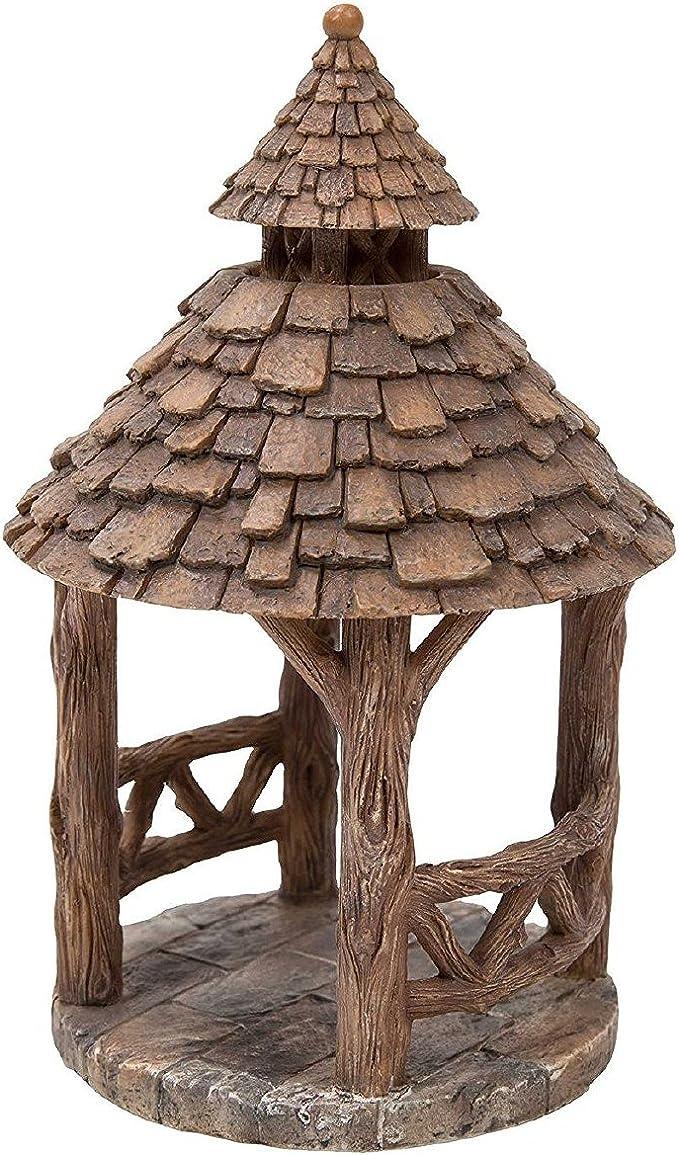 Vivid Arts MW02-016) - Cenador de madera para decoración de jardín: Amazon.es: Jardín
