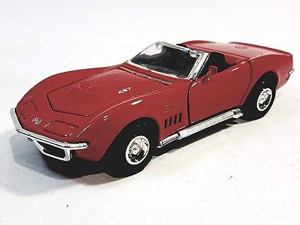 Amazon com: Sunnyside 1963 Red Chevy Corvette Stingray 1/32